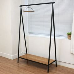 61 Ideas Diy Clothes Hanger Stand For 2019 Industrial Design Furniture, Furniture Design, Cloth Hanger Stand, Clothes Hanger Rack, Furniture Projects, Furniture Buyers, Wood Design, Stores, Interior Design Living Room