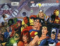 JLA/Avengers - George Pérez