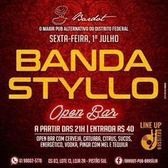 #VEJA Bardot Pub: Banda Styllo #agenda @paroutudo via ParouTudo http://ift.tt/29hrONd #Raynniere #Makepeace