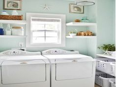 what to consider in laundry room makeover with regular design