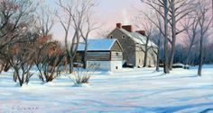 Renfrew Winter, by Larry Selman, original in Private collection