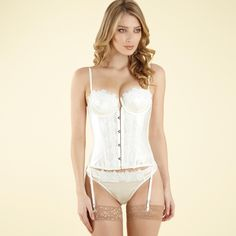 73362286eb Bridal Basque by Janet Reger Janet Reger