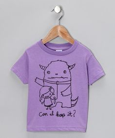 I really think I could make this shirt!  And its darn cute to boot!