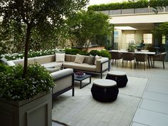 A London Roof Terrace | Bowles & Wyer bespoke garden design London
