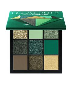 Buy Obsessions Precious Stones Eyeshadow Palette from Huda Beauty here. What it is: A range of compact eyeshadow palettes, expertly curated by Huda hersel. Makeup Palette, Eyeshadow Palette, Beauty Makeup, Eye Makeup, Makeup Brushes, Chanel Makeup, Green Palette, Putting On Makeup, Green Eyeshadow