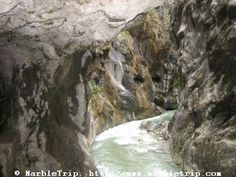 Cares hike, the divine gorge in Peaks of Europe.