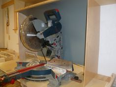 Bosch Glider work station - by sillac @ LumberJocks.com ~ woodworking community