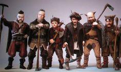 The 7 dwarfs (Snow White & the Huntsman)