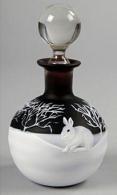 Alasdair Gordon Perfume Bottle- love the Rabbit