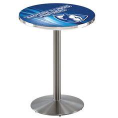 """Holland Bar Stool Pub Table Tabletop Size: 42"""" H x 28"""" W x 28"""" D, NCAA Team: Eastern Illinois"""