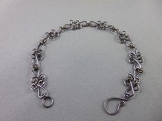 Gunmetal Sweetheart Style Wire Wrapped Bracelet, Wire Wrapping, Bracelets, Silver, Jewelry, Style, Bangles, Jewlery, Money