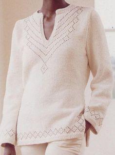 White svetr - Renee - Lei Yu Xuan