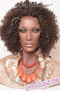 Champagne Lace Front Wig Rachel, Natural Hair Lace Front, Afro Kinky Curly Synthetic Lace Front Wig