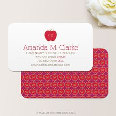 Substitute teacher business card template teaching business cards teacher business card calling card mommy card contact card teacher substitute teacher tutor instructor business cards cheaphphosting Images