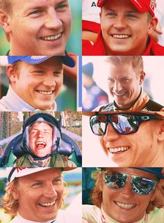 Kimi Räikkönen will confound you and make you all confused. If you can figure him out, you should win some big prize!