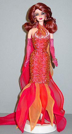 Barbie Miss Utah Ninimomo 2001 Barbie Wedding Dress, Barbie Gowns, Barbie Clothes, Barbie Miss, Fashion Dolls, Fashion Outfits, African Fashion Designers, Holiday Costumes, Beautiful Barbie Dolls