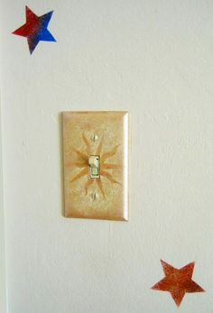 Get your painted light switch plate on!