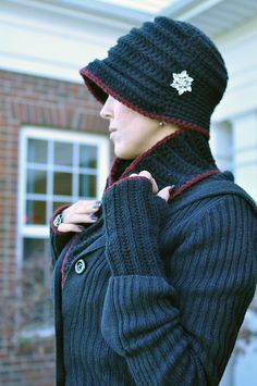 Flapper Hat By Sarah Arnold - Free Crochet Pattern - (ravelry)