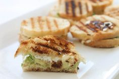 Avocado & Goat Cheese Mini Grilled Cheese