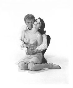 """Natalie Wood and Steve McQueen in """"Love with the Proper Stranger"""", 1963 Directed by Robert Mulligan. Natalie Wood, Hollywood Star, Classic Hollywood, Hollywood Life, Hollywood Actresses, Old Movies, Great Movies, Steeve Mcqueen, Steve Mcqueen Style"""