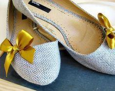My favorite colors together again! These shoes are super adorable!
