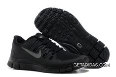 official photos 737ae 7d720 NIKE FREE 5.0 WOMENS ALL BLACK TRAINING SHOES TOPDEALS Only  66.05 , Free  Shipping!