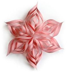 A Recovering Craft Hoarder: Gorgeous (and EASY) Paper Star/Decorations