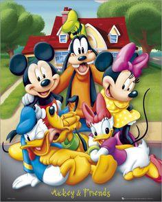 Der beste Freund von Mickey Mouse, Donald Duck, feiert heute seinen 76. Geburtstag. Auch ein Kunstposter der Kultfiguren spiegelt wahre Freundschaft wieder.