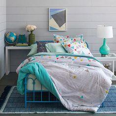 9 by Novogratz Kaleidoscope Bed in a Bag Bedding Set - Walmart.com
