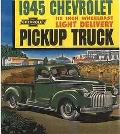 1945 Chevrolet Truck Ad-01