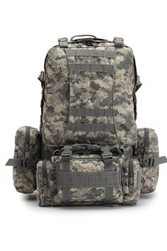 Outdoor Multifunctional Military Hiking Camping Tactical Combination Backpack -- New and awesome product awaits you, Read it now  : Hiking backpack
