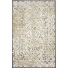 Auguste Gray/Green Area Rug