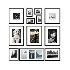 Frame Wall II – Black Oslo – 12 Photo Frames Source by katebymail Collage Mural, Photo Wall Collage, Photo Deco, Bedroom Layouts, Photo Layouts, Oslo, Inspiration Wall, Frames On Wall, Picture Frames