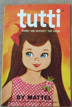 Barbie Vintage Booklet Brochure Flyer '65 Tutti Swirl Bendleg Ken Skipper Franci | eBay