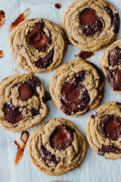 Salted Espresso Rye Chocolate Chip Cookies - The Sweet and Simple Kitchen