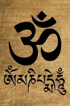 oṃ maṇipadme hūṃ - Contemporary & Traditional - Tashimannox.com ...
