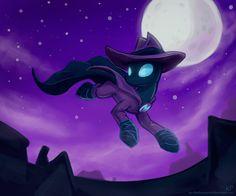 I Am the Night! by KP-ShadowSquirrel.deviantart.com on @DeviantArt