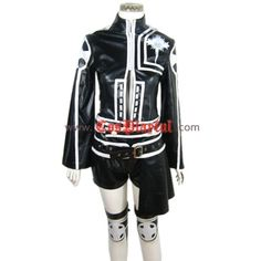 Lenalee Lee 2nd Uniform D.Gray-Man Cosplay ❤ liked on Polyvore featuring costumes, cosplay costumes, role play costumes, exorcist halloween costume, cosplay halloween costumes and exorcist costume