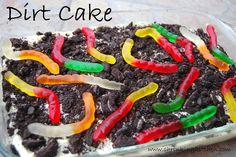 Dirt Cake, Made-Over - Shrinking Kitchen
