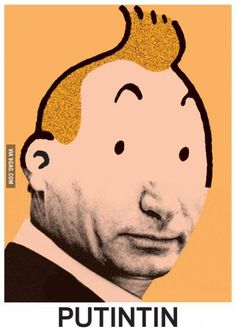 Putintin... Laughing so hard