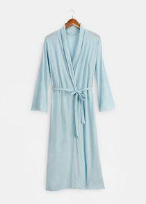 Organic Cotton Verbena Robe