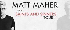 WICHITA FALLS, TX 4/8/16 Don't miss the #saintsandsinnerstour in #wichitafalls #texas #april 8th, 2016!  See Matt Maher and John Tibbs live for a night of worship music!  Tickets at iTickets.com! #mattmaher #johntibbs #christian #worship #music #itickets #concert #tour #event #texas