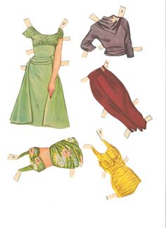 Miss Missy Paper Dolls: August 2014