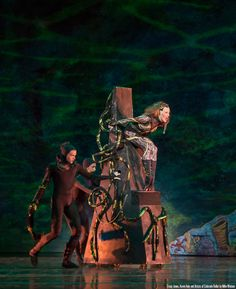 Tracy Jones, Kevin Hale and Artists of Colorado Ballet in The Little Mermaid - by Mike Watson