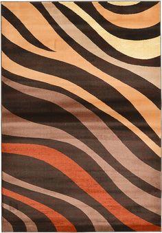 Brown 5' 3 x 7' 7 Reproduction Gabbeh Rug | Area Rugs | eSaleRugs