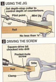 How to Make Pocket Holes WITHOUT a Kreg Jig - Căutare Google