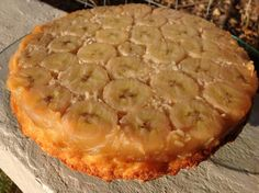 Banana and coconut caramel cake  @Looking through my kitchen window- Paleo/Primal