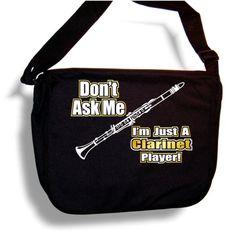 Clarinet Dont Ask - Sheet Music Document Bag Musik Notentasche MusicaliTee MusicaliTee http://www.amazon.de/dp/B004O9GL7E/ref=cm_sw_r_pi_dp_q46Hvb1QYTZ59