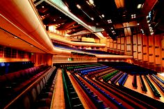 The Barbican centre concert hall