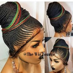 Let me bless ur timeline Versatility is key for it to be real it has to look real light weight, neatly and tightly done for long term use comes in any desired color and length worldwide delivery available call or WhatsApp 08179406719 African Braids Hairstyles, Ponytail Hairstyles, Weave Hairstyles, Lace Braid, Braided Updo, Lace Front Wigs, Lace Wigs, Updo Styles, Hair Styles